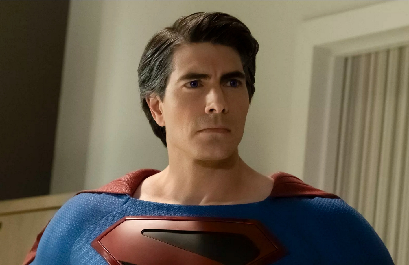Brandon Routh as Superman in Crisis on Infinite Earths. (The CW)