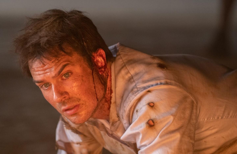 Ian Somerhalder stars in V Wars. (Netflix)