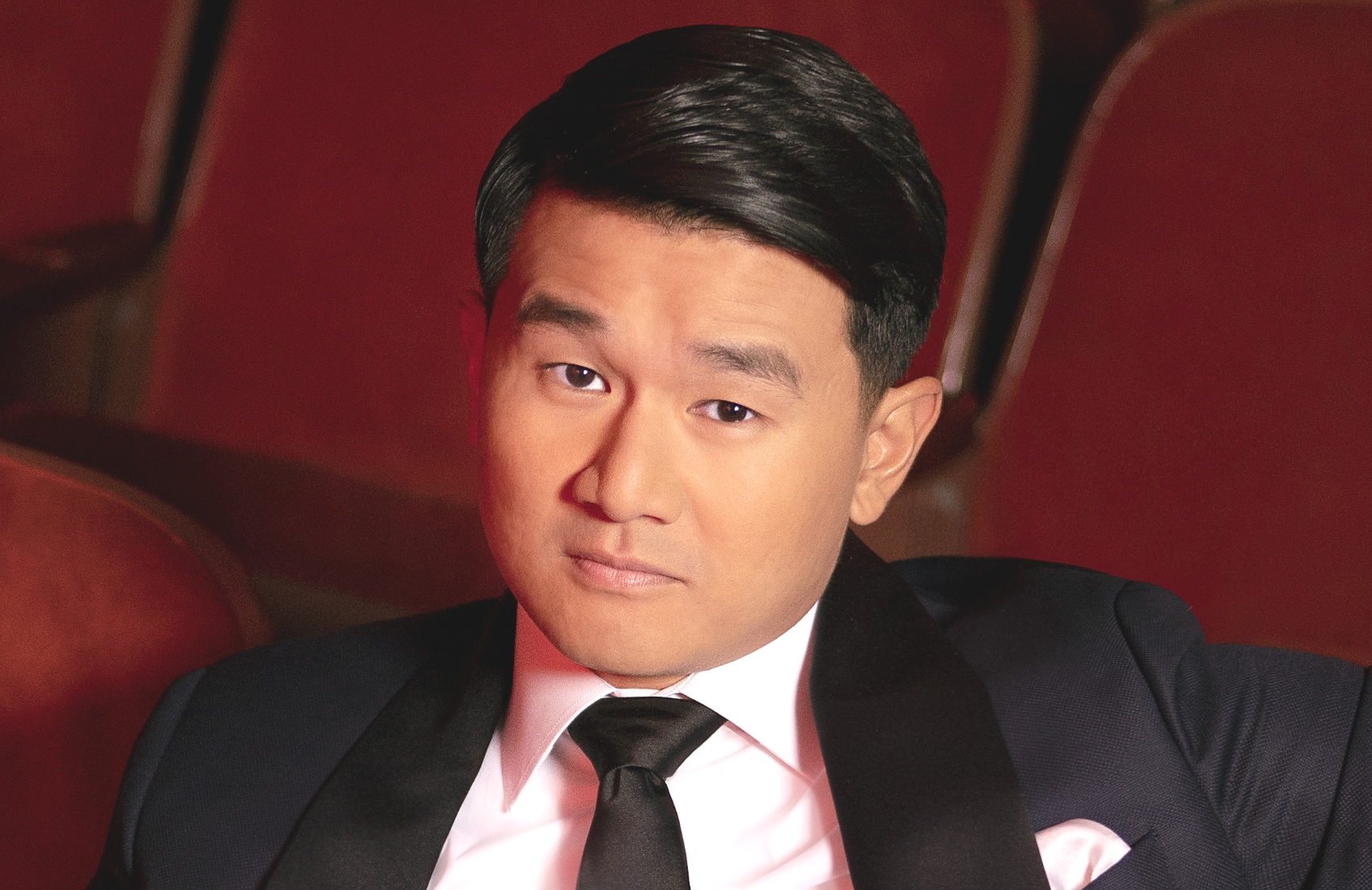 Ronny Chieng in his first Netflix comedy special, Asian Comedian Destroys America! (Netflix)