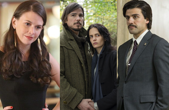 Sutton Foster, Josh Hartnett, Eva Green and Oscar Isaac (Freeform, Showtime, HBO)