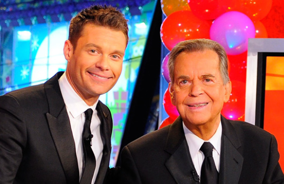 Ryan Seacrest and Dick Clark in 2011, prior to Clark's death the following year.  (ABC)
