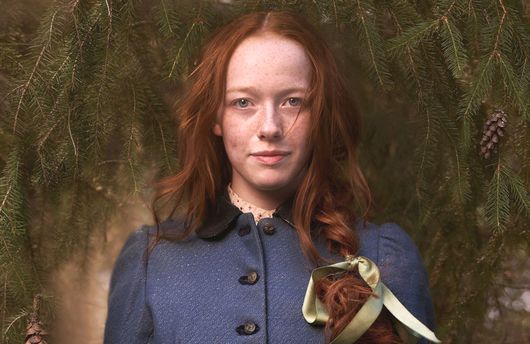Amybeth McNulty brings Anne Shirley to life in Anne With an E. (Photo: CBC/Netflix)