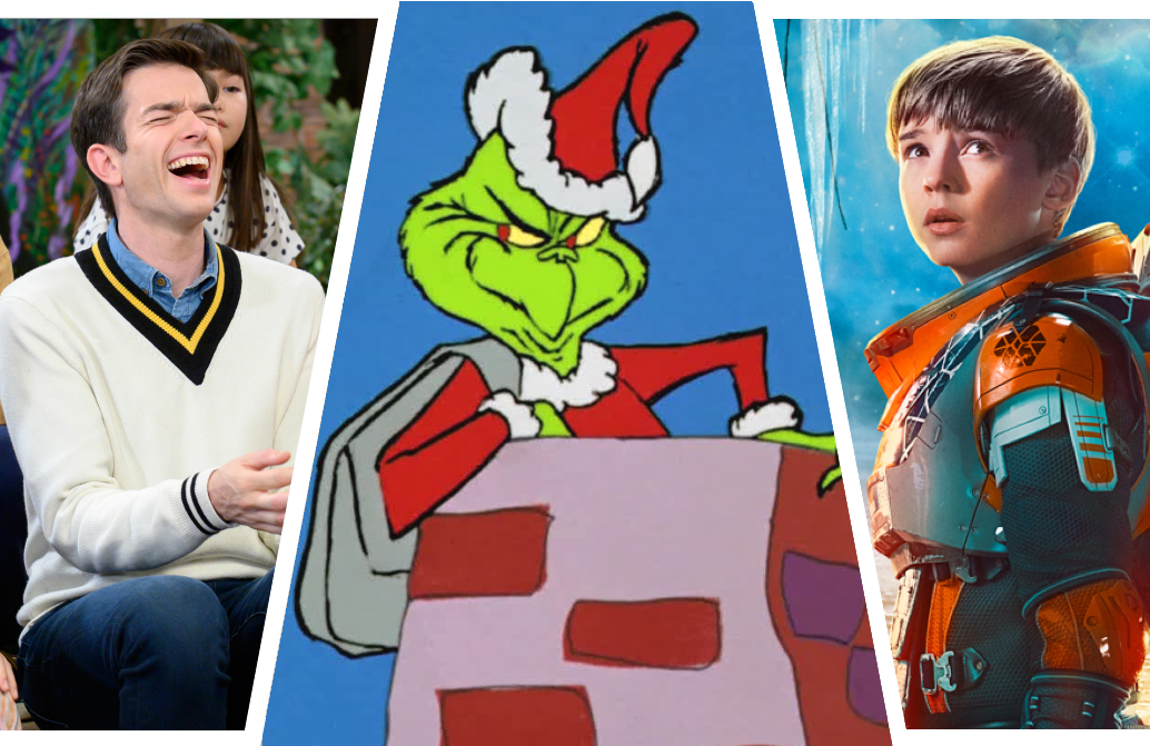 John Mulaney and the Sack Lunch Bunch, Dr. Seuss' How the Grinch Stole Christmas and  Lost in Space are among TV's headliners this Christmas.