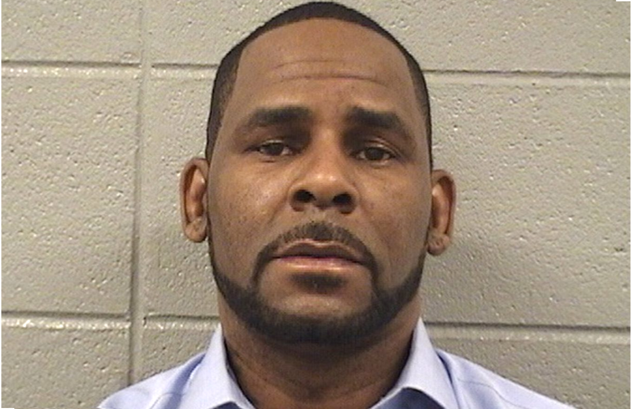 R. Kelly in a March 6, 2019 booking photo released by the Cook County Sheriff's Office.