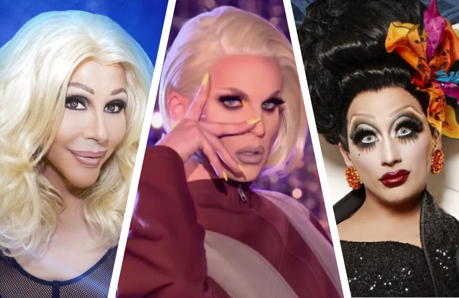 Chad Michaels, Katya and Bianca del Rio are three of the queens appearing in supporting roles in RuPaul's new Netflix series AJ and the Queen.