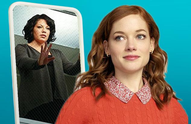 Jane Levy channels her best Sara Ramirez in NBC's new musical dramedy Zoey's Extraordinary Playlist. (Photos: ABC, NBC)