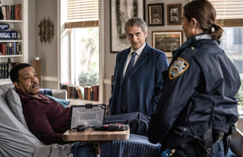Russell Hornsby, Michael Imperioli, and Arielle Kebbel in Lincoln Rhyme: Hunt for the Bone Collector (NBC)