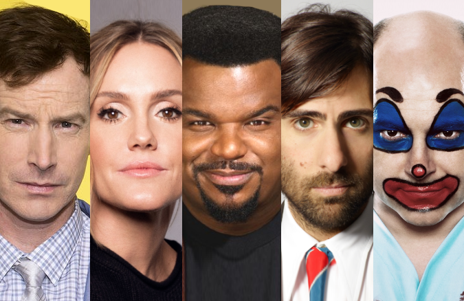 Craig Robinson, Jason Schwartzman and Rob Corddry are just a few of the big names joining Medical Police stars Rob Huebel and Erinn Hayes in guest roles.