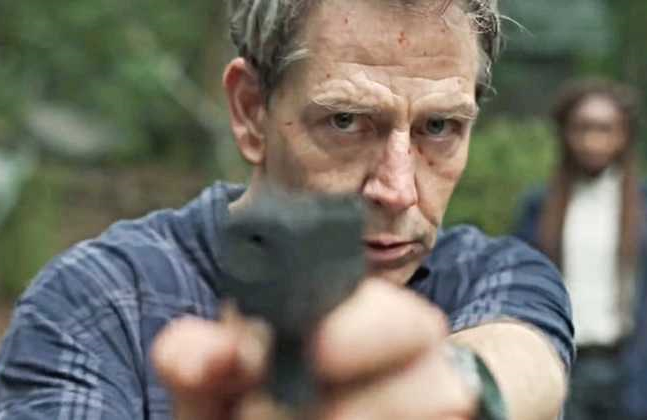 Ben Mendelsohn stars as Ralph Anderson in The Outsider. (HBO)
