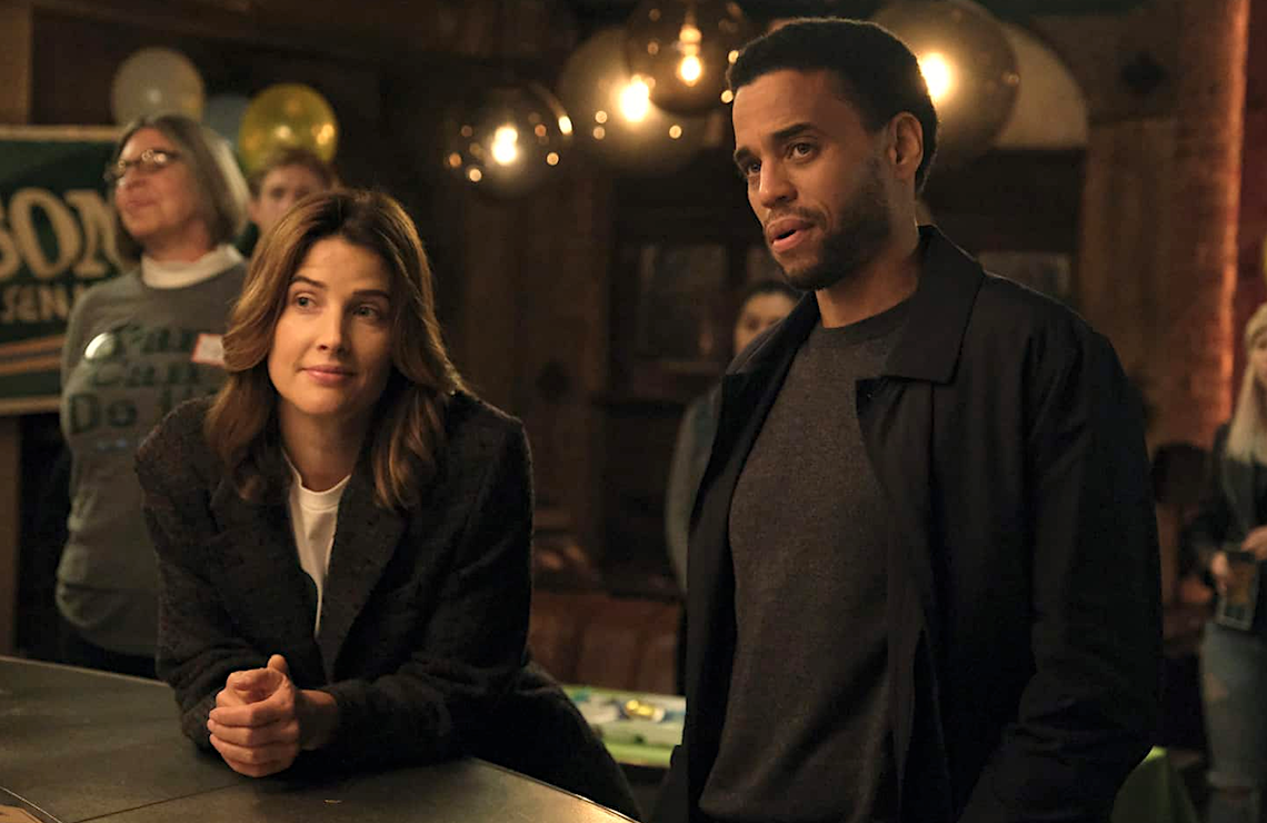 Cobie Smulders and Michael Ealy in Stumptown (ABC)