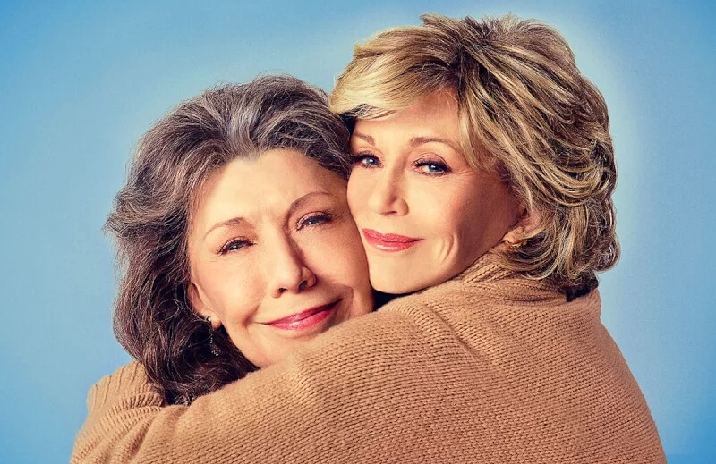 Lily Tomlin and Jane Fonda return in the penultimate season of Grace and Frankie. (Netflix)
