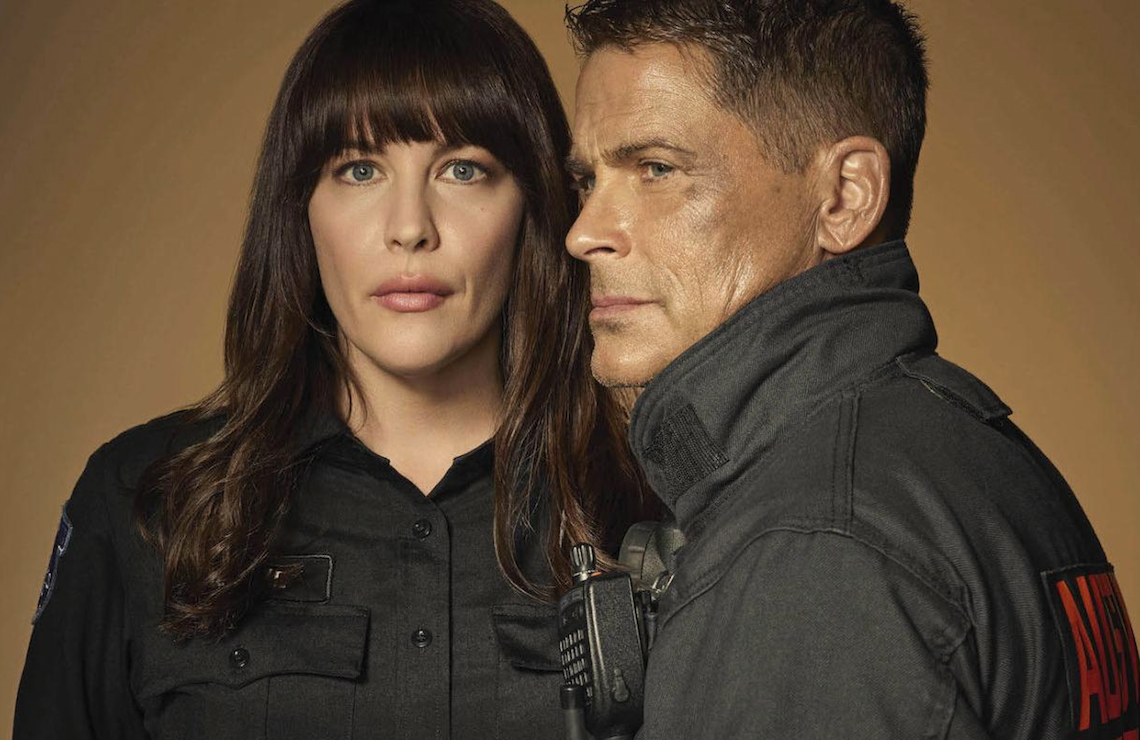 Liv Tyler and Rob Lowe star in 9-1-1: Lone Star. (Fox)