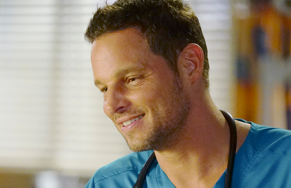 Justin Chambers in Grey's Anatomy. (ABC)