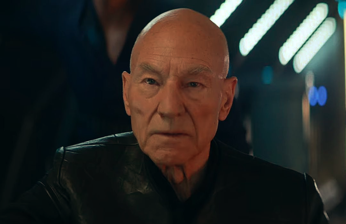 Patrick Stewart returns as Jean-Luc Picard in Star Trek: Picard. (CBS All Access)