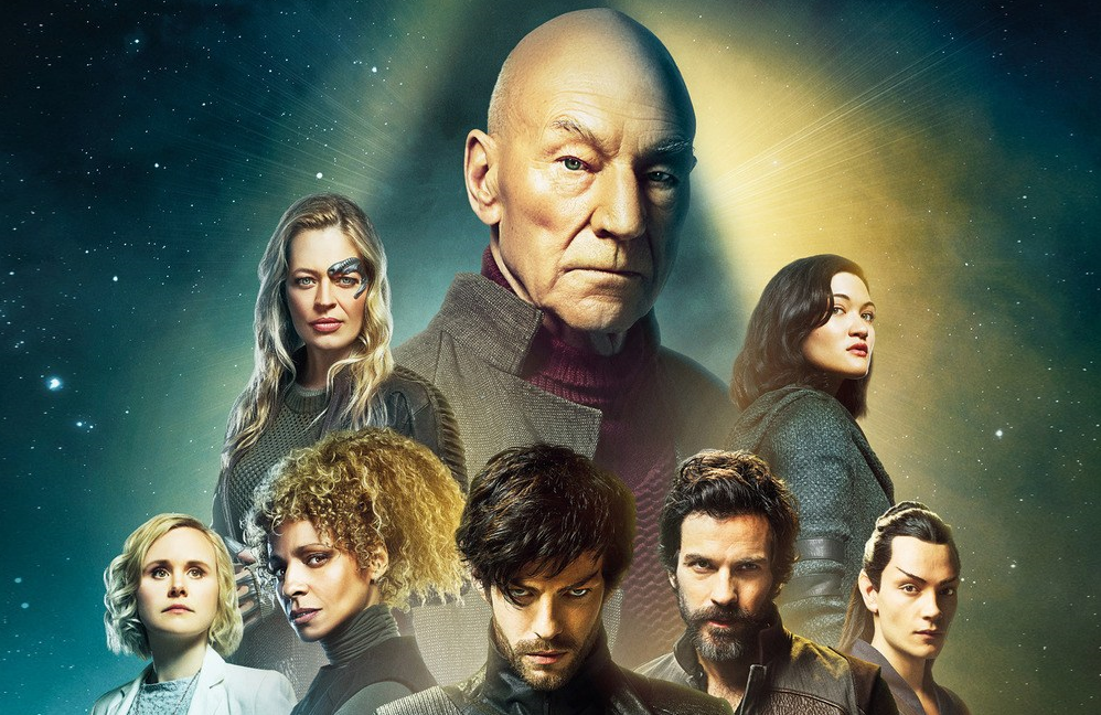 A promotional image for Star Trek: Picard. (CBS All Access)