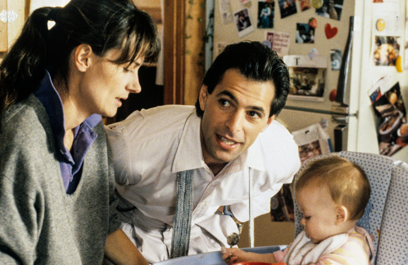 Baby Janie is all grown up in Thirtysomething(else). She'll be joined by returning cast members Mel Harris, left, and Ken Olin. (Photo: ABC)