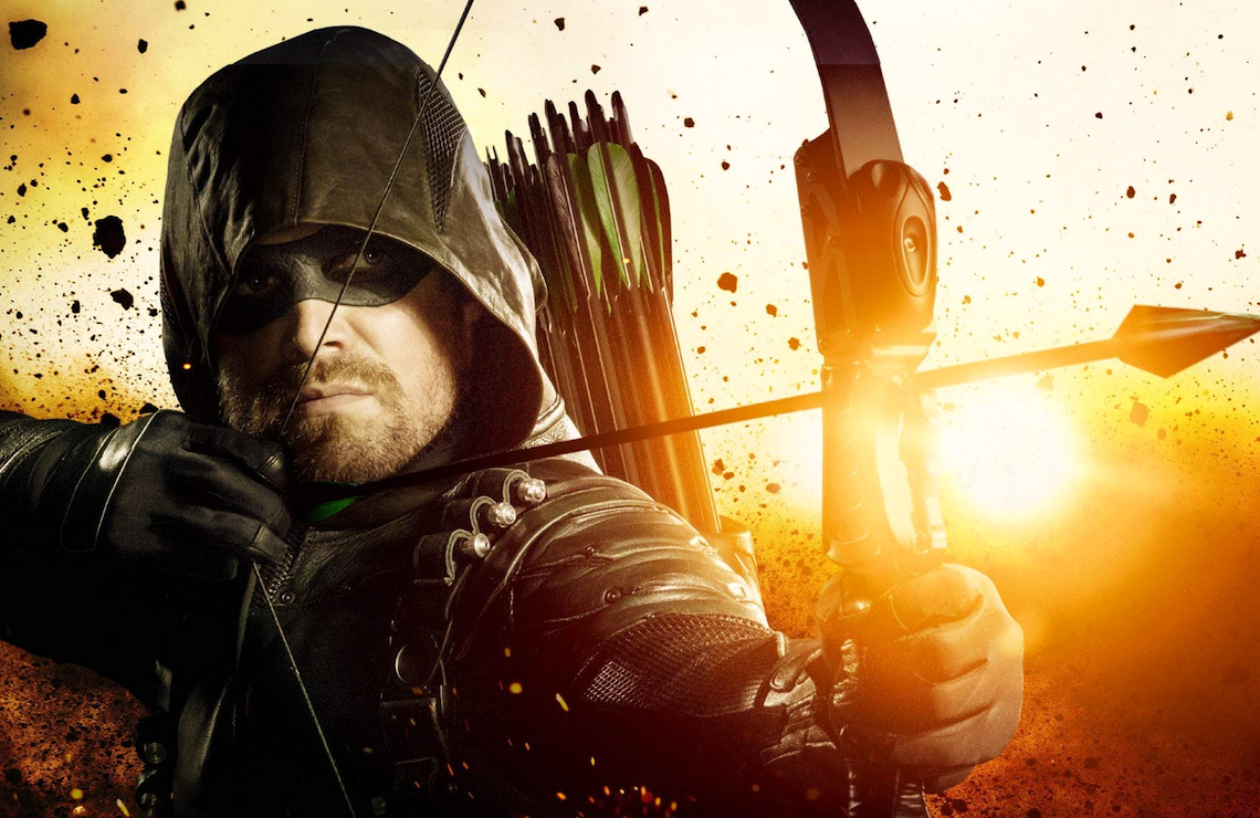 Stephen Amell as Oliver Queen in Arrow. (The CW)