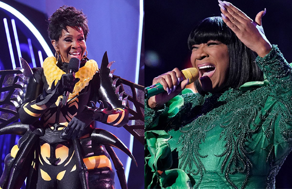 Gladys Knight and Patti LaBelle in The Masked Singer (FOX)