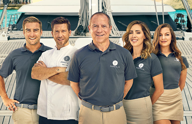 Meet the crew of Below Deck Sailing Yacht in tonight's series premiere. (Bravo)