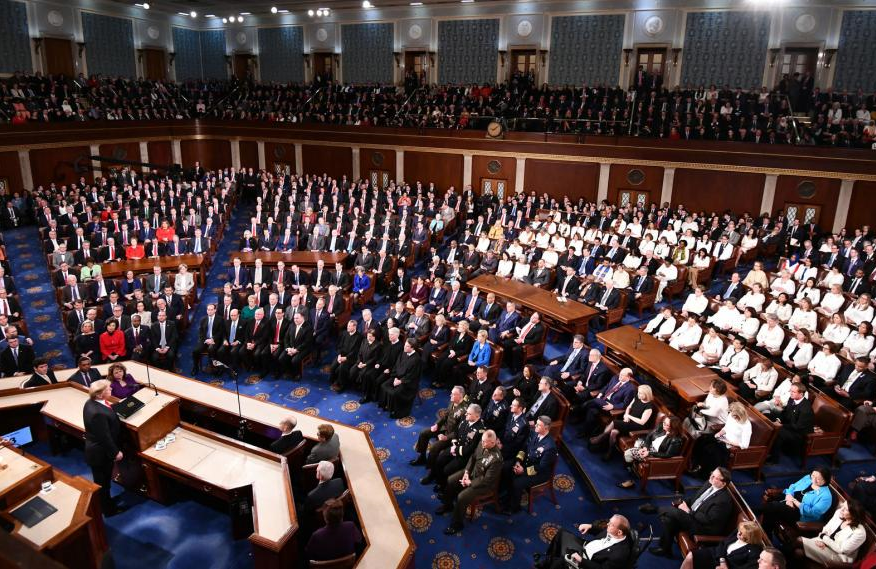 President Trump will address Congress tonight in his fourth State of the Union Address.