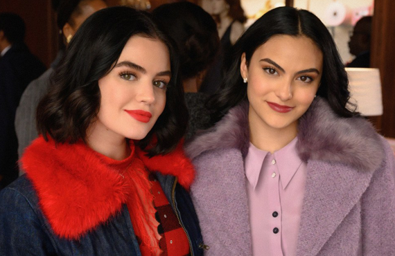 Was last night's mini-crossover featuring Riverdale's Lucy Hale and Katy Keene's Camilla Mendes a harbinger of things to come? (The CW)