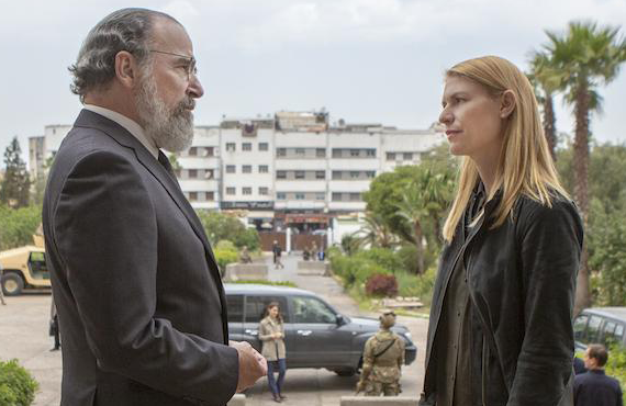 Mandy Patinkin and Claire Danes in Homeland. (Showtime)