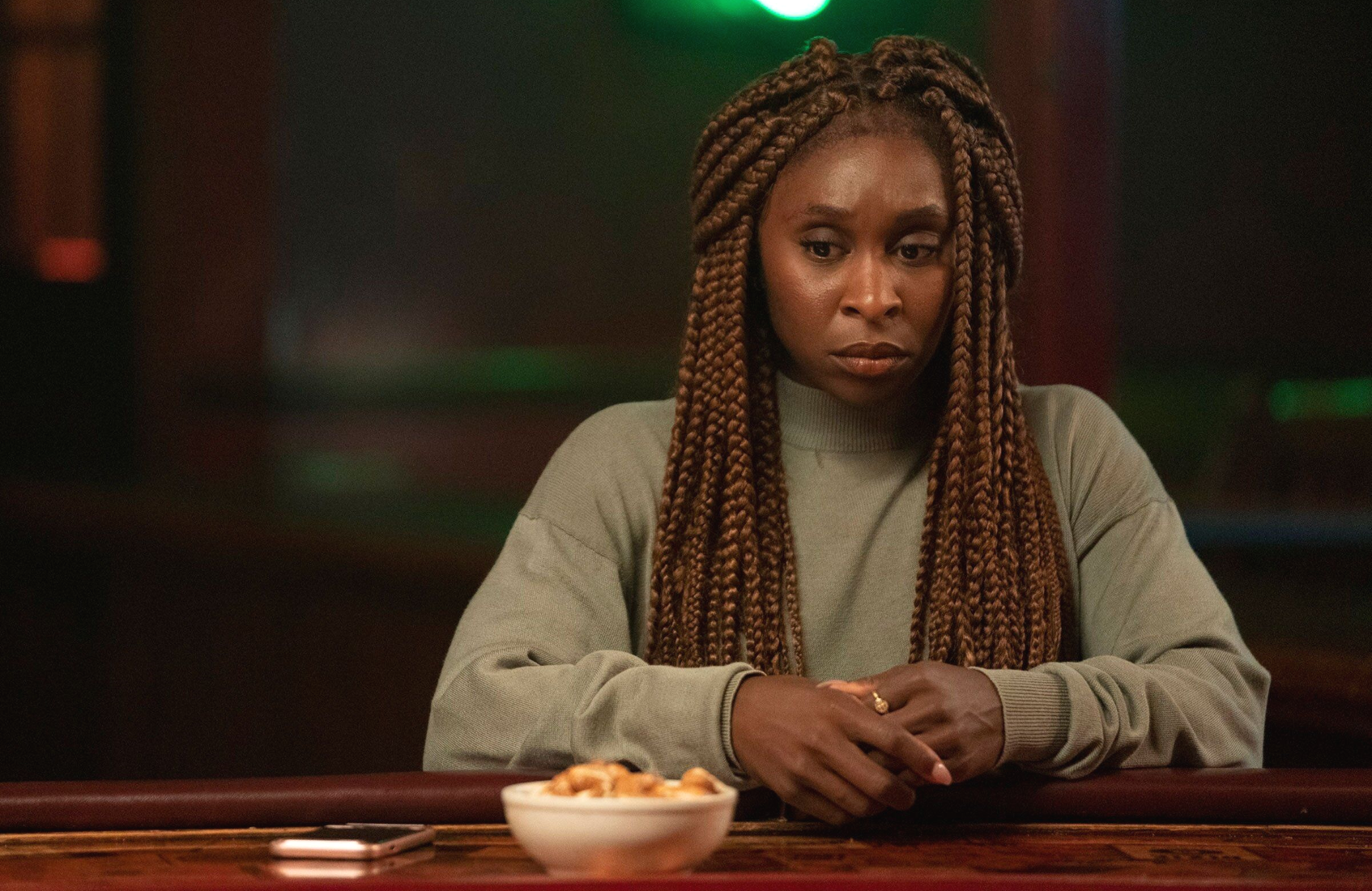 Cynthia Erivo in The Outsider. (HBO)