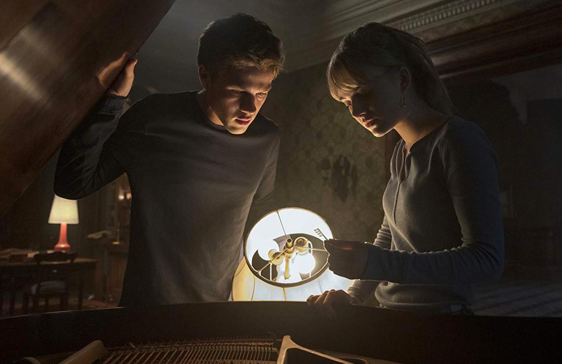Connor Jessup and Emilia Jones in Locke & Key. (Netflix)