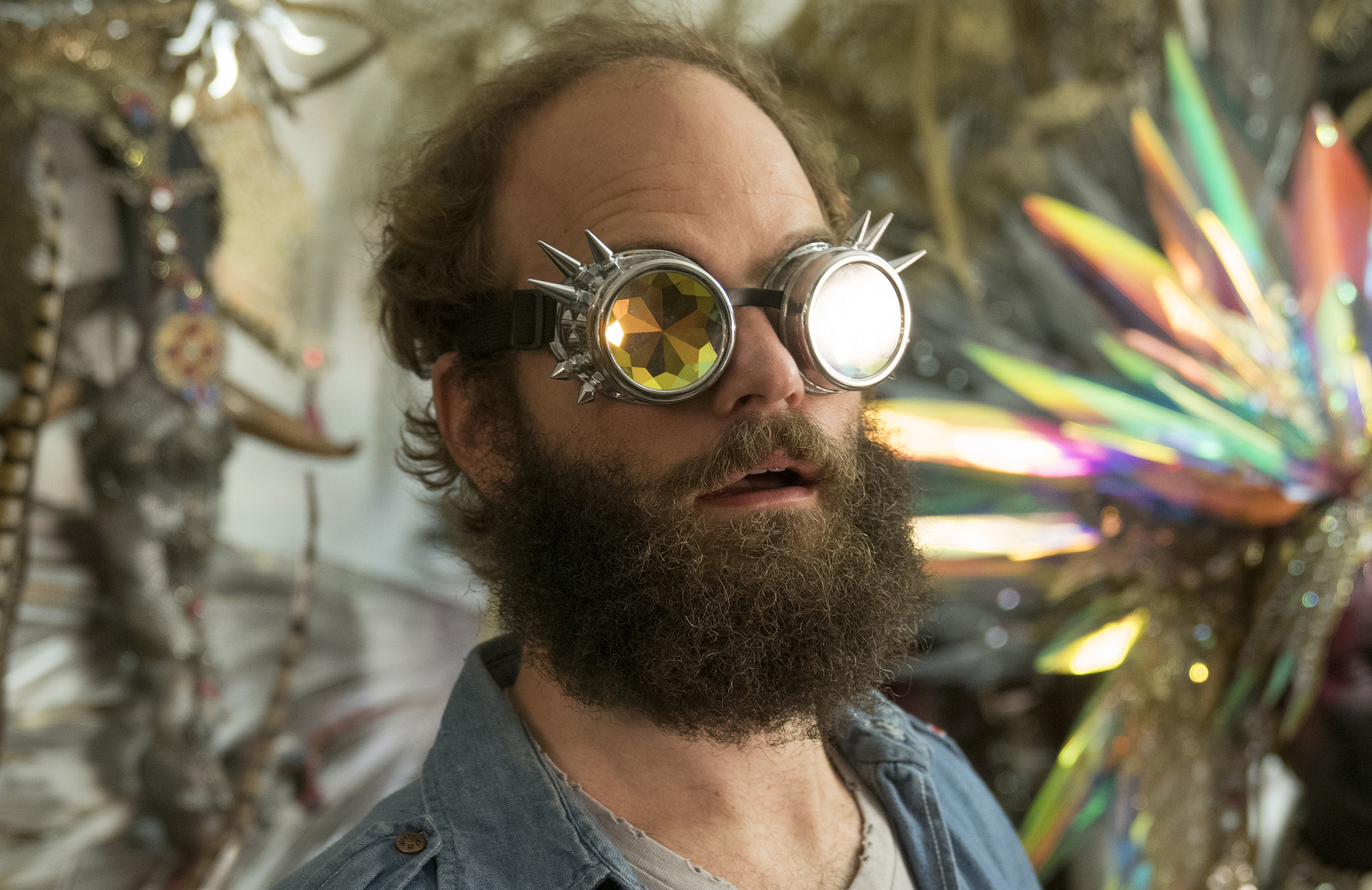 """The Guy"" (played by series creator Ben Sinclair) is the enigmatic center of High Maintenance. (Photo: HBO)"