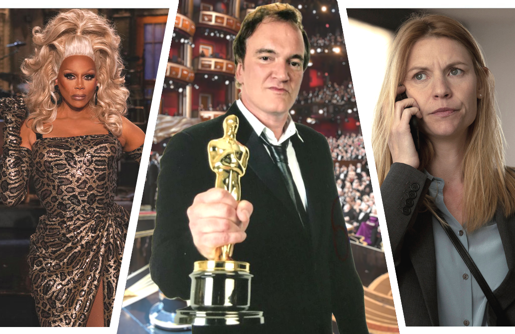 Good luck getting anything done this weekend between RuPaul's Saturday Night Live hosting debut, the Oscars, and the final season premiere of Homeland. (Photos: NBC/ABC/Showtime)