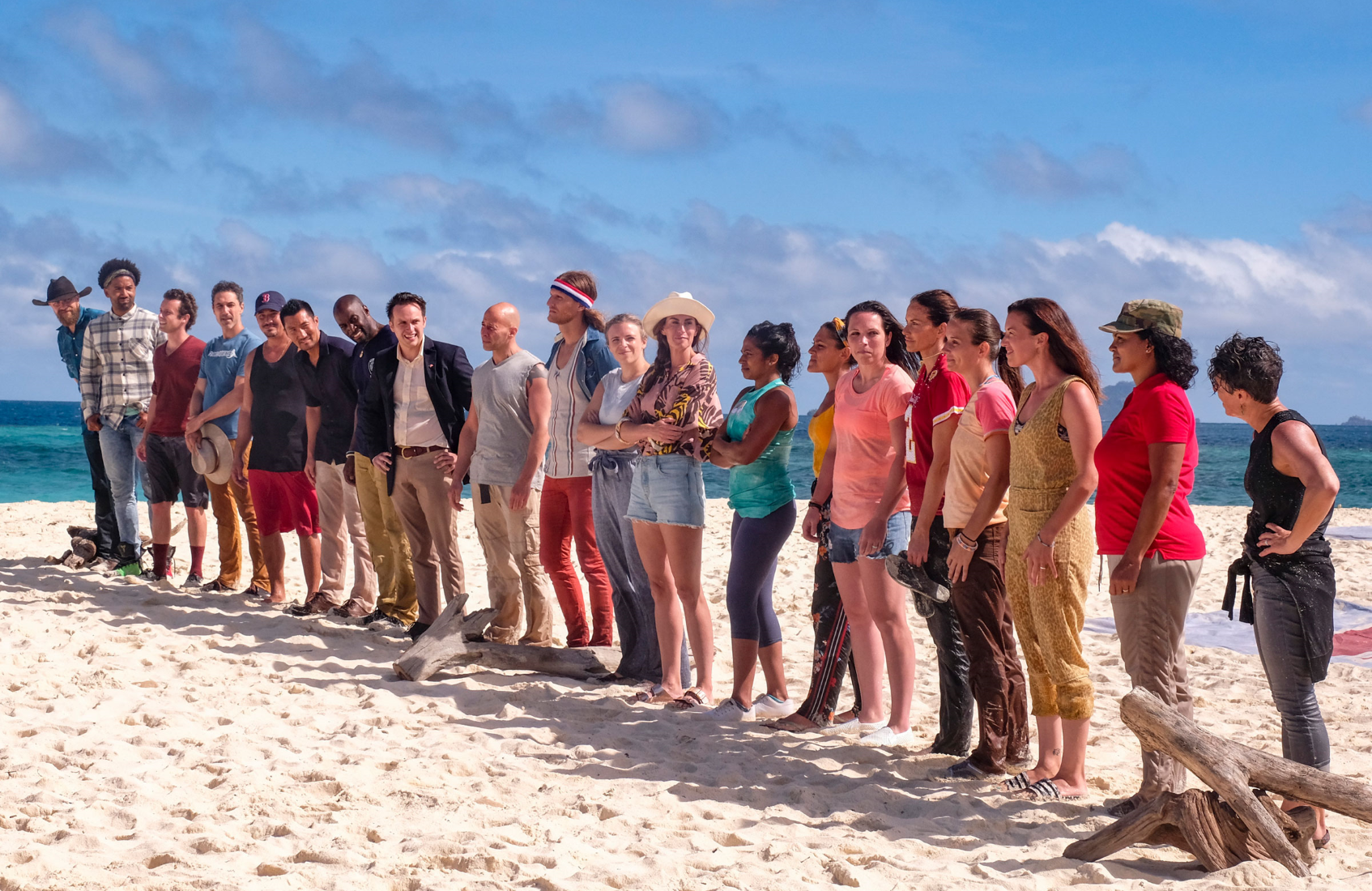 Survivor: Winners at War brings the show's winningest cast ever back to the shores of Fiji. (Photo: Robert Voets/CBS)