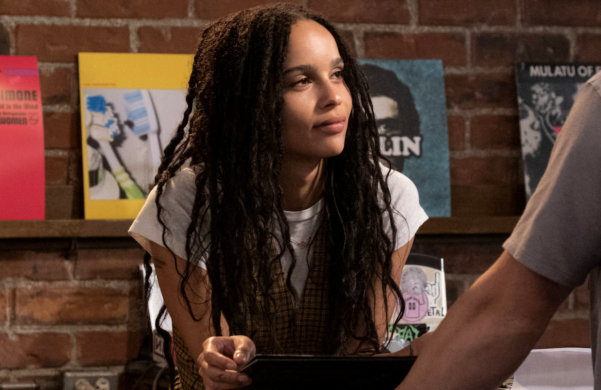 Zoë Kravitz stars as Rob in High Fidelity. (Hulu)