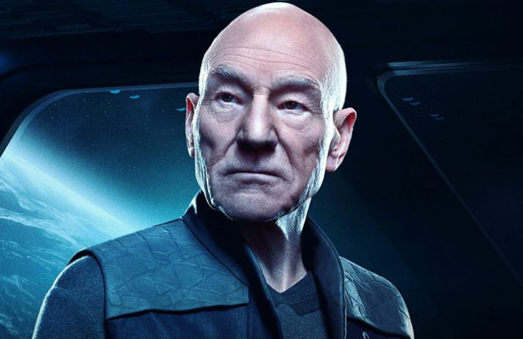 Patrick Stewart stars in Star Trek: Picard. (CBS All Access)