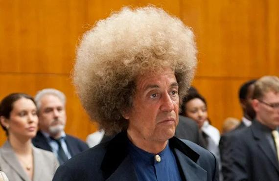 Al Pacino as Phil Spector in Phil Spector. (HBO)