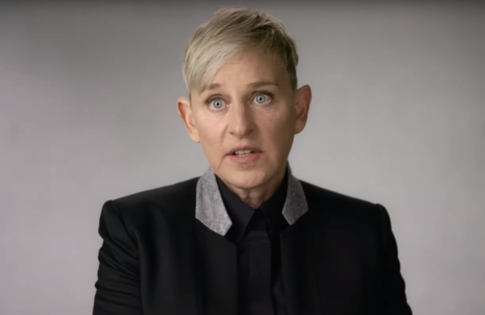 Ellen DeGeneres is one of dozens of key players in the history of LGBTQ television who tell their story in Visible: Out on Television. (Photo: Apple TV+)
