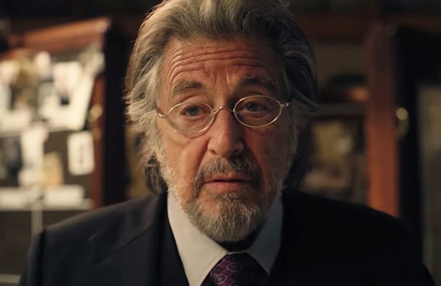 Al Pacino as Meyer Offerman in Hunters. (Amazon)
