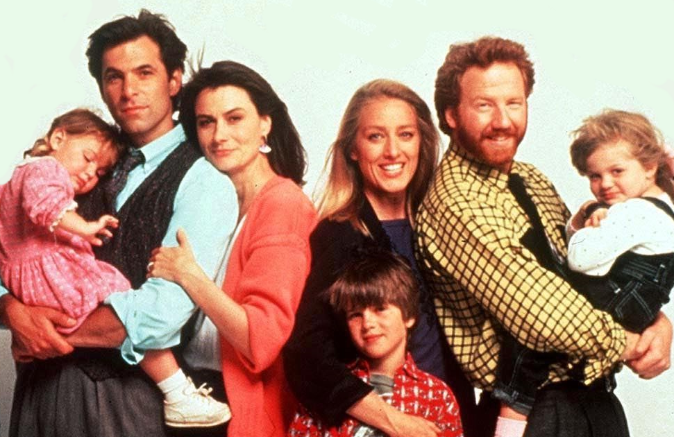 Ken Olin, Mel Harris, Patricia Wettig and Timothy Busfield reprise their roles as parents to a new generation of thirtysomethings. (Photo: ABC)