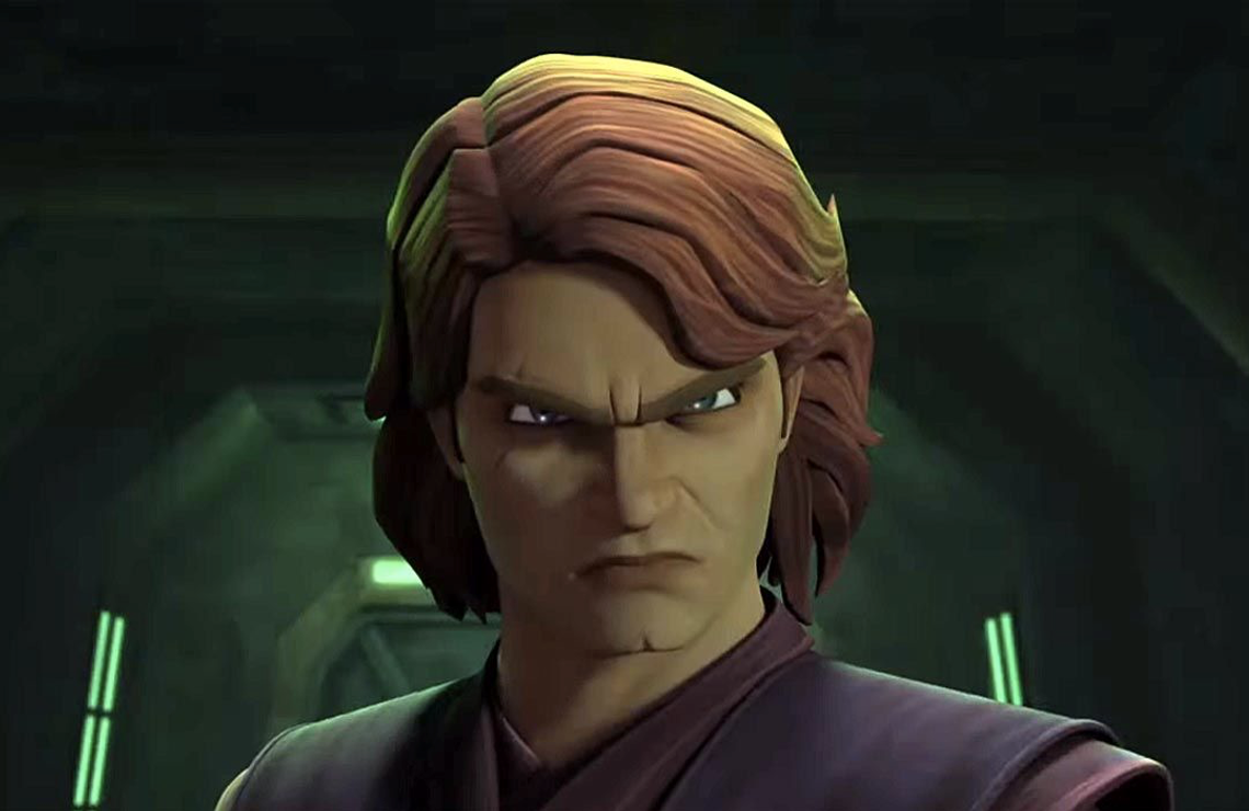 You don't have to recognize Anakin Skywalker — Luke's father and the future Darth Vader — or recognize the voice of Matt Lanter as Anakin, in order to enjoy watching Star Wars: The Clone Wars. (Disney+)