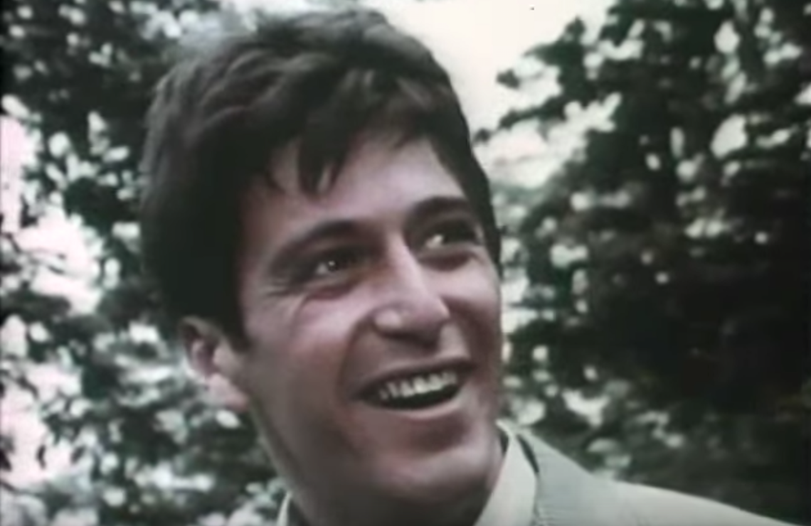 A 28 year-old Al Pacino guest-starred in a 1968 episode of N.Y.P.D.. (ABC)