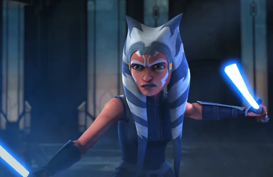 Ahsoka Tano in Star Wars: The Clone Wars. (Photo: Lucasfilm)
