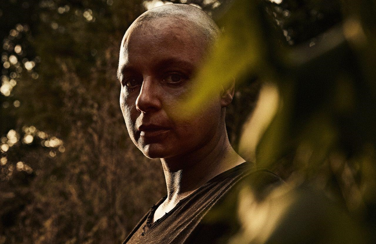 Samantha Morton plays the villainous Alpha in The Walking Dead. (AMC)