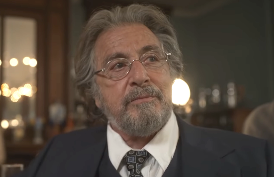 Al Pacino as Nazi hunter Meyer Offerman in Hunters. (Amazon)