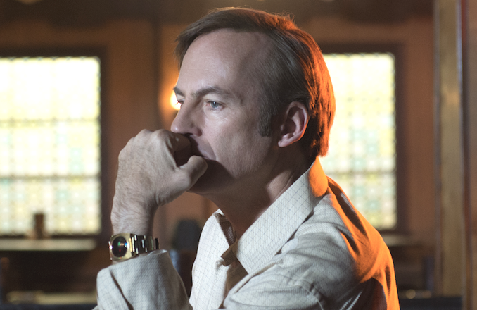 Ever the heartbreaker: Bob Odenkirk in Better Call Saul. (AMC)