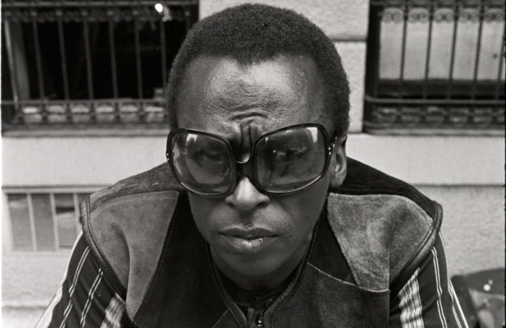 An undated portrait of Miles Davis from the PBS film on his life.