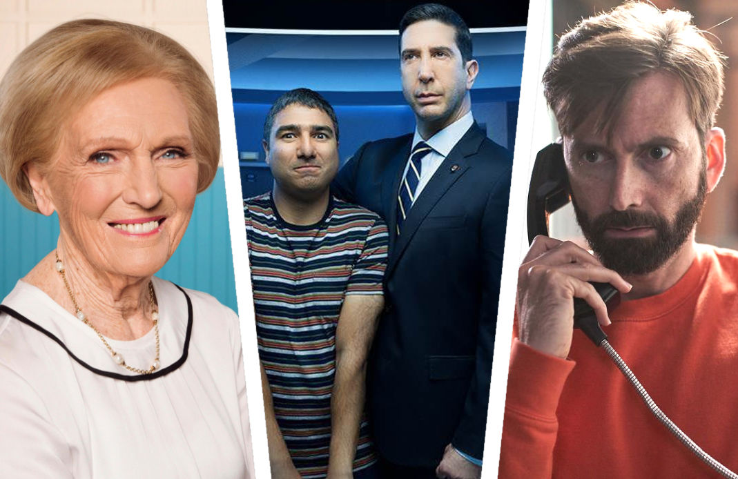 If past is prologue, it won't be long before new British shows starring Mary Berry, David Schwimmer and David Tennant find their way stateside.