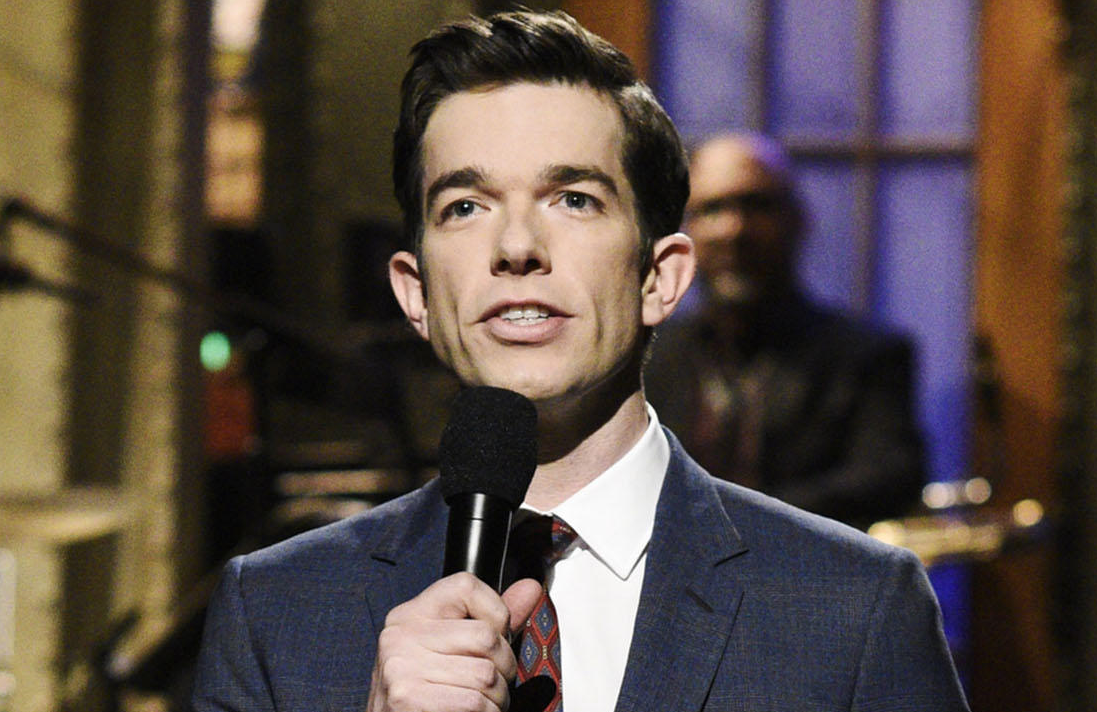 John Mulaney returns to homebase on Saturday Night Live this weekend. (Photo: NBC)