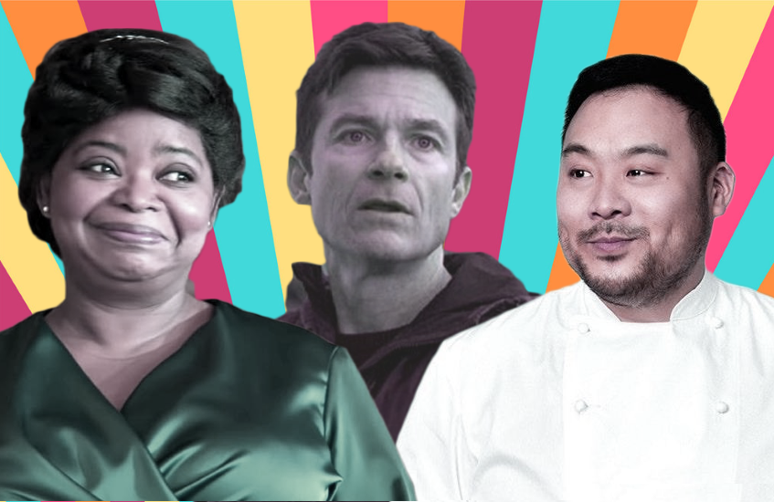 Octavia Spencer, Jason Bateman and David Chang are among the familiar faces with projects hitting Netflix this month.