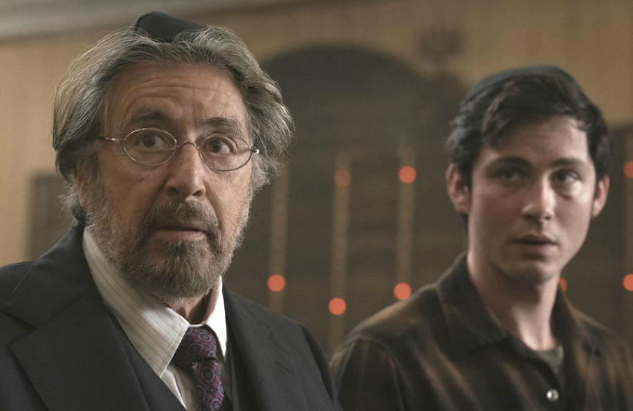 Al Pacino and Logan Lerman in Hunters. (Photo: Amazon)