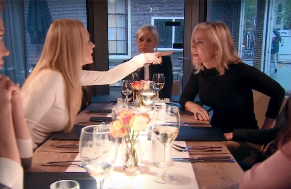 Kim Richards, Yolanda Foster and Eileen Davidson in The Real Housewives of Beverly Hills. (Bravo)