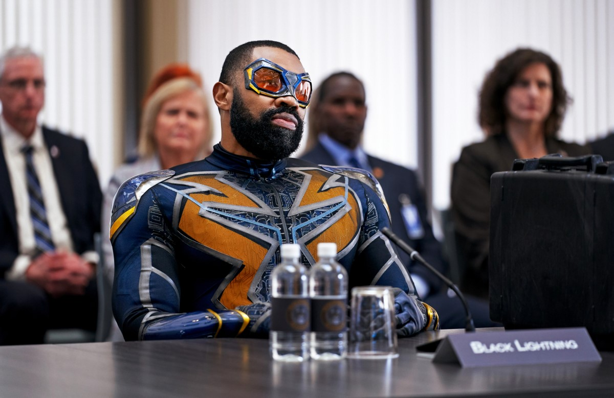 Cress Williams stars in Black Lightning. (The CW).